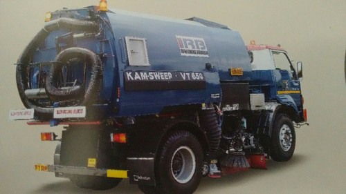 Chassis Mounted Vacuum Sweeper