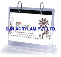 Acrylic Calender Stand
