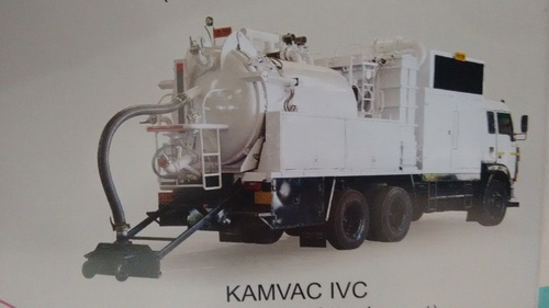 KAMVAC IVC (With Sweeper Attachment)