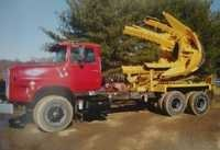 Truck Mounted Tree Tranter