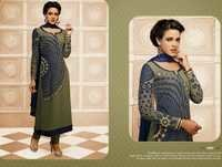 Beautiful Green Partywear Salwar Kameez
