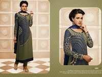 Beautiful Green Partywear Salwar Kameez