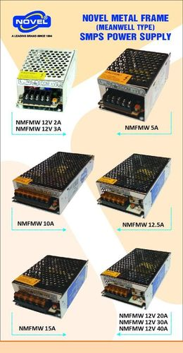 Metal Frame CCTV SMPS Power Supply