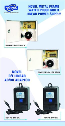 CCTV Camera Water Proof Power Supply
