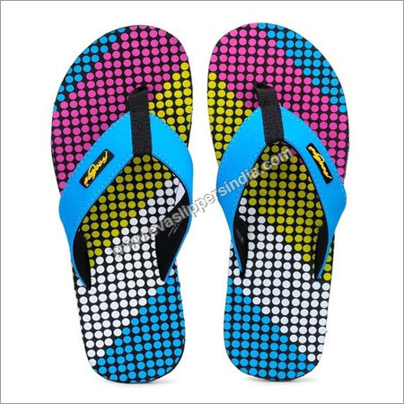 Multi Colored Flip Flops