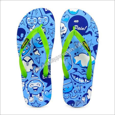 Freetoes Emotion Blue Flip Flops