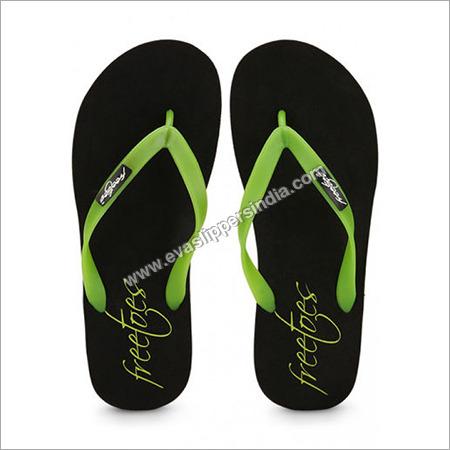 Freetoes Black Flip Flops