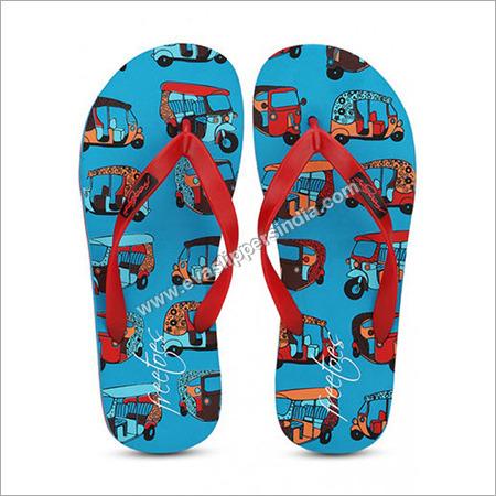 Freetoes Auto Blue Flip Flops