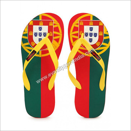 Freetoes Portugal Red Flip Flops