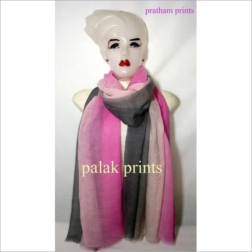 Wool Ombre Printed Stole