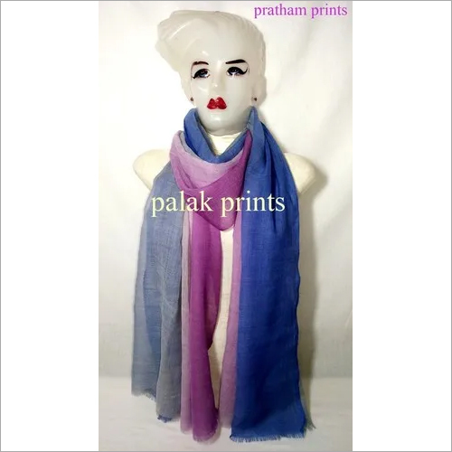 Womens Wool Ombre Stoles
