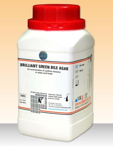 Brillant Green Bile Agar