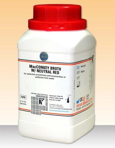 Macconkey broth w/ neutral red