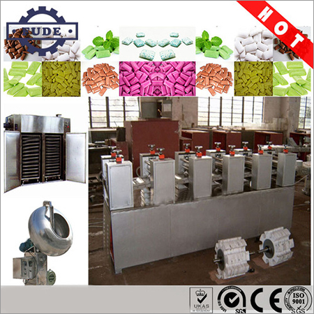 Sugar Shell Chewing Gum Production Line