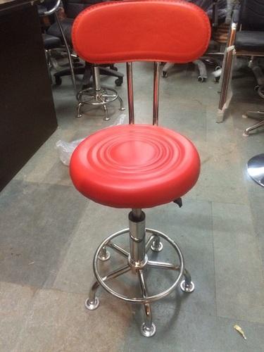 Revolving Stool With Backrest