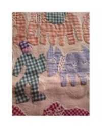 Applique hand made work