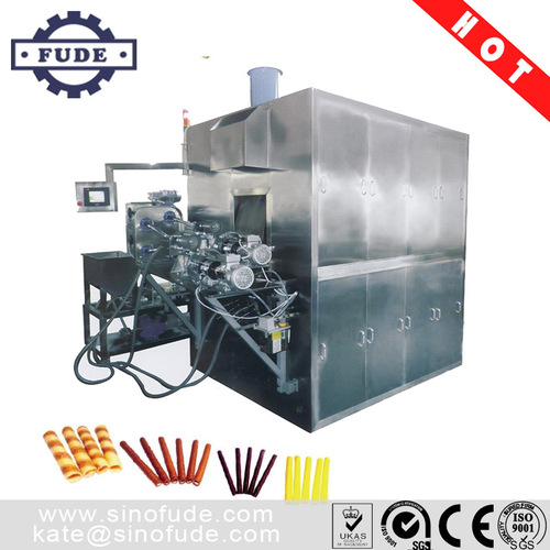 Most advanced and easy operate Fully Automatic Waffle Egg Roll Machine