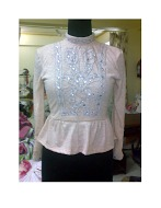 Girls Top Embroidered Work
