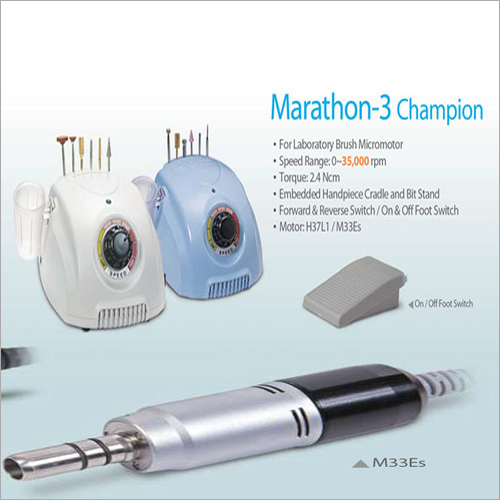Micromotor with Handpiece
