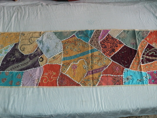 INDIAN ETHNIC PATCHWORK WALL TAPESTRY