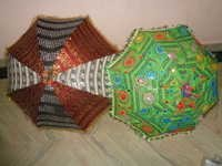 COTTON PATCHWORK UMBRELLAS PARASOLS FROM INDIA