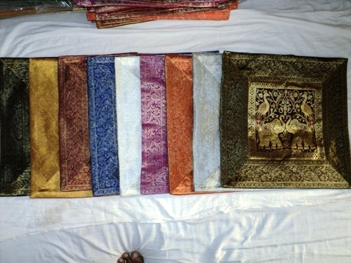 INDIAN SILK PATCHWORK CUSHION COVERS