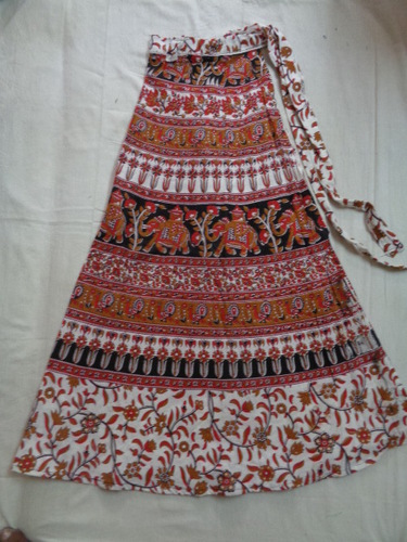 COTTON PRINTED LONG SKIRTS WHOLESALE