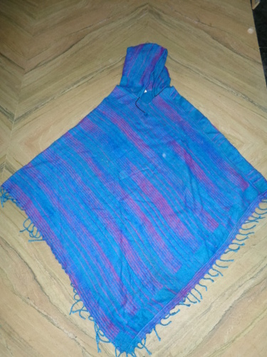ACRYLIC WOOLEN PONCHOS FROM INDIA 50 PCS
