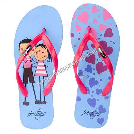 Freetoes Couple Blue Flip Flops