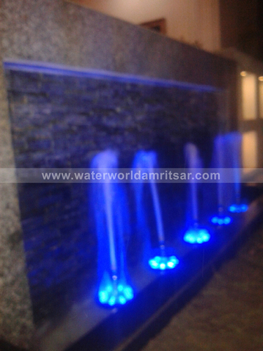 Indoor Color Fountains