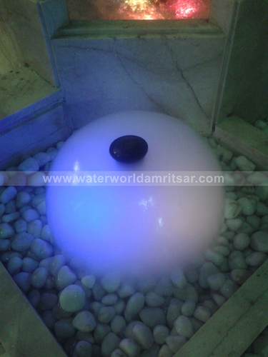 Outdoor Ball Fountain