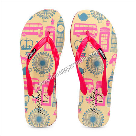 Freetoes Town Printed Flipflop