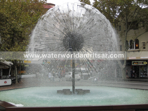 BALL TYPE FOUNTAINS DESIGNERS