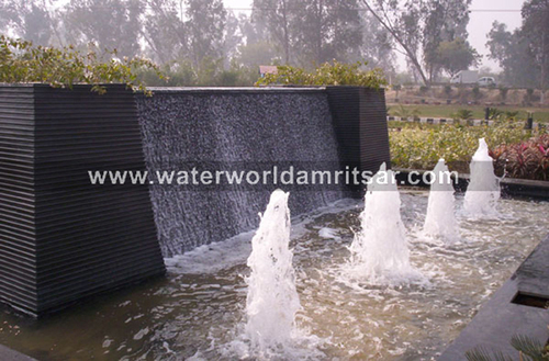 OUTDOOR WATER FALLS ARCHITECTURES