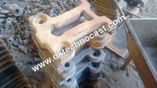 Sugarcane Crusher Machine Parts Casting