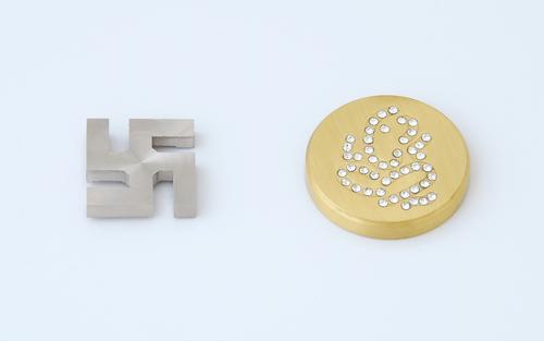Fancy Brass Mirror Cap