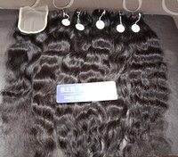 Human hair natural wave