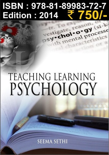 Teaching Learning Psychology