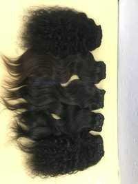 Virgin Hair Deep Curly Hair