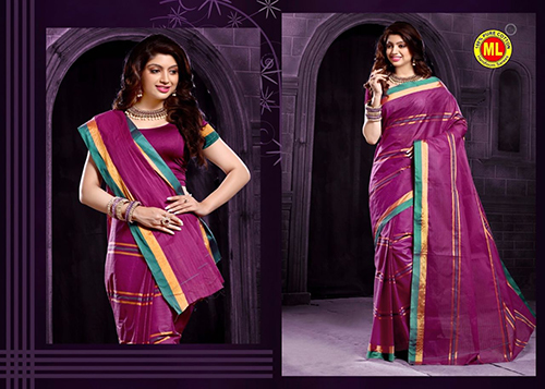 Cotton Designer Sarees