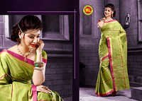 Multi Colour Cotton Sarees