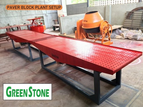 Paver Block Machine Green stone