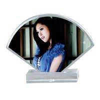 fan shaped Clear AcrylicDS-