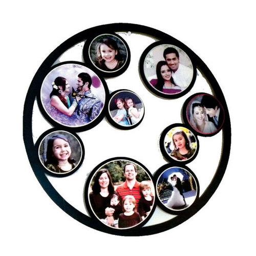 9 Pcs Round Photo FrameDS-