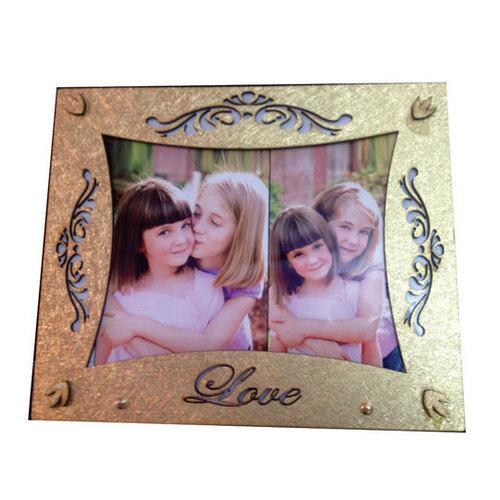 golden photo frameDS-