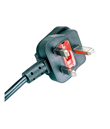 UK Plug Cord With Built In Fuse