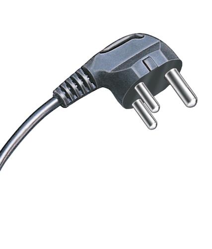 3 Pin Mains Cord 5amp S/dlx.guage 14/36