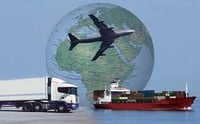 Industrial International Freight Forwarding Services
