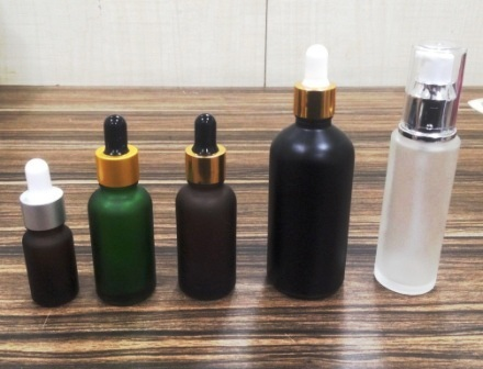 Cosmetic Essential Oil Glass Bottles