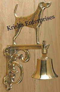 Wall Hanging Brass Bell